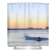 Surfing - Ocean City New Jersey Shower Curtain