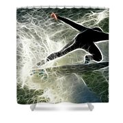 Surfing Usa Shower Curtain