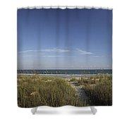 Surfside Beach Sc Shower Curtain