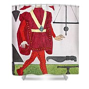 Surgeon, 14th Century Shower Curtain
