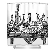 Surgical Instruments, 1567 Shower Curtain