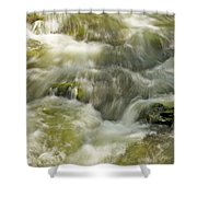 Surging Water Shower Curtain