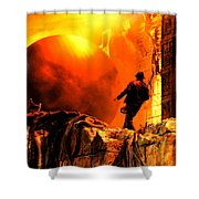 Surprise Indy Original Work Shower Curtain