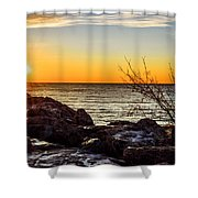 Surprise Sunrise Shower Curtain