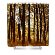 Surreal Autumn Shower Curtain