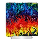 Surreal Dance By Rafi Talby   Shower Curtain