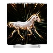 Surreal Horse Shower Curtain