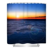 Surreal Planet Shower Curtain
