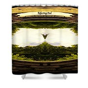 Surreal Reflecting Pool Shower Curtain