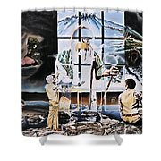 Surreal Windows Of Allegory Shower Curtain
