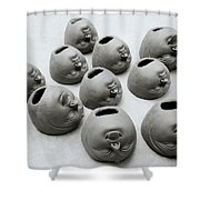 Surreal India Shower Curtain