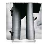 Surrealist Art Shower Curtain