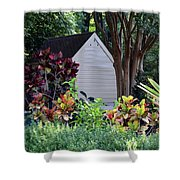 Surrounded By Beauty Shower Curtain