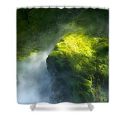 Surrounded By Mist Shower Curtain
