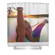Surrrender Shower Curtain