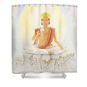 Surya The Sun Shower Curtain