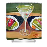 Sushi 1 Shower Curtain