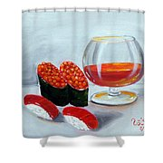 Sushi 7 Shower Curtain