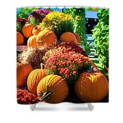 Sussex County Farm Stand Shower Curtain