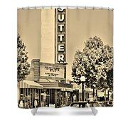 Sutter Theater Shower Curtain