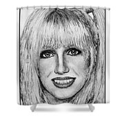 Suzanne Somers In 1977 Shower Curtain