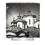 Sv Joakim Osogovski Shower Curtain