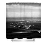 Svinafell Rivulets Shower Curtain