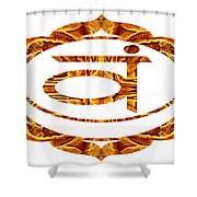 Swadhisthana Abstract Chakra Art By Omaste Witkowski Shower Curtain