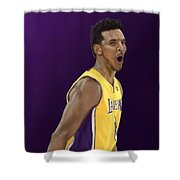 Swaggy P  Shower Curtain