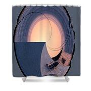 Swallowtail Lighthouse Fantash Shower Curtain