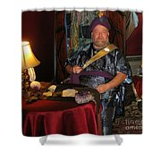 Swami Shower Curtain