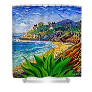 Swami's Agave Shower Curtain