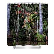Swamp Beauty Shower Curtain