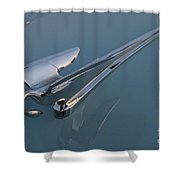 Swan Hood Ornament 1 Shower Curtain