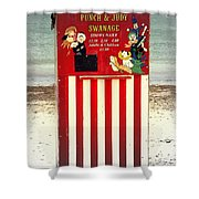 Swanage Punch And Judy Shower Curtain