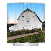 Swaner Sunset Shower Curtain