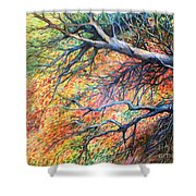 Sway Dancing Trees Shower Curtain