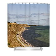 Swedish Coastline Shower Curtain
