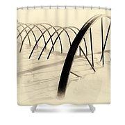 Sweep Shower Curtain