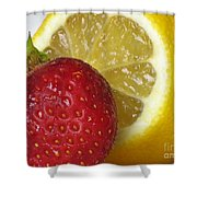 Sweet And Sour Shower Curtain