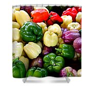 Sweet Bell Peppers Shower Curtain