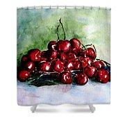 Sweet Cherries Shower Curtain