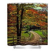 Sweet Country Morning Shower Curtain