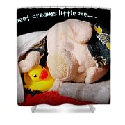 Sweet Dreams Little One Shower Curtain
