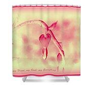 Sweet Heart Shower Curtain