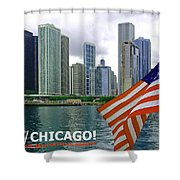 Sweet Home Chicago II Shower Curtain