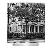 Sweet Home New Orleans Bw Shower Curtain