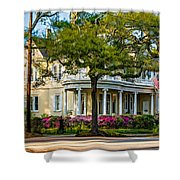 Sweet Home New Orleans Paint Shower Curtain