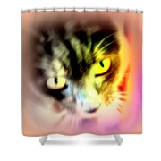 The Sweet Hunter With The Yellow Eyes  Shower Curtain