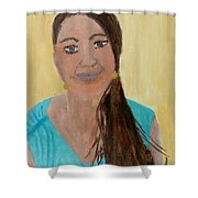 Sweet Lady  Shower Curtain